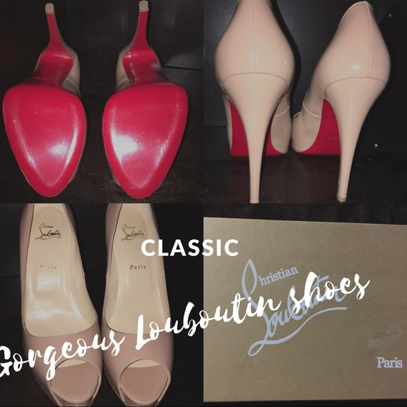 9706b3728a4 Classic Christian Louboutin peak-toe pumps